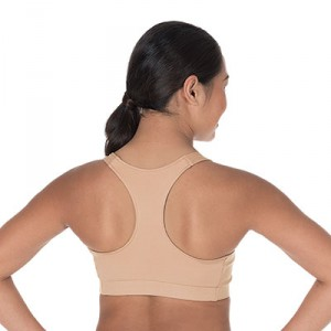 CC Spiritwear Nude Sports Bra with Racerback