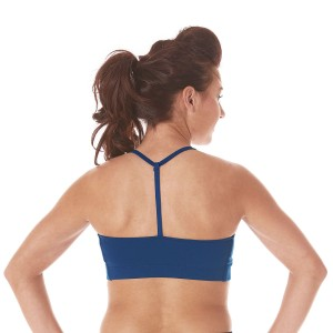 Specialty Fabric T-Back Sports Bra