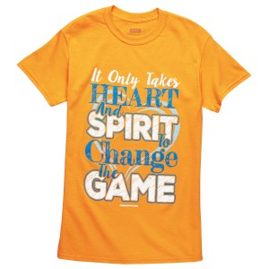 Tennessee Orange Heart and Spirit T-shirt
