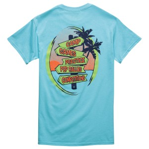 All Roads Lead to Cheer T-shirt