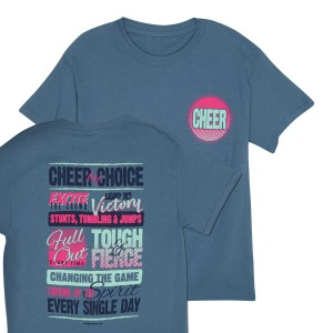 Cheer By Choice Tee