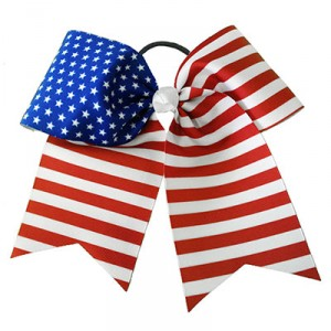 American Flag Patriotic USA Stars and Stripes Bow