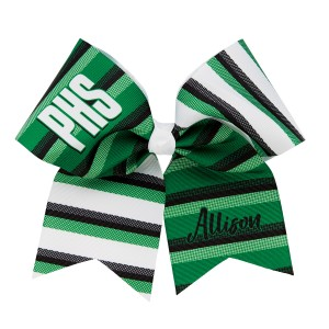 CC Fusion Extra Large Custom Stripe Bow
