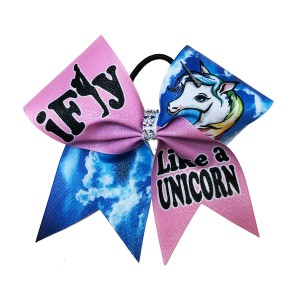 Extra Large Shimmer iFly Like A Unicorn Bow