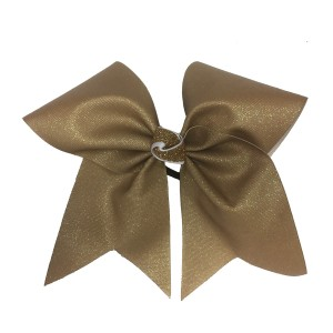 "3"" Sublimated Shimmer Ribbon Bow with a Glitter Knot"