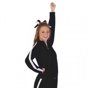 Black Rival Warmup Jacket by CC SpiritWear