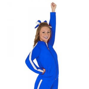 Royal Blue Rival Warmup Jacket by CC SpiritWear