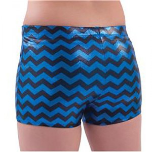 Pizzazz® Body Basics Chevron Metallic Boy Cut Briefs