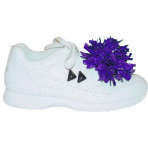 In Stock Pair of Solid Color Shoe Poms