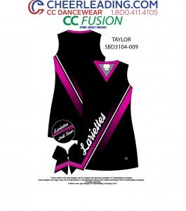 CC Fusion Taylor Mesh Jersey Spirit Dress