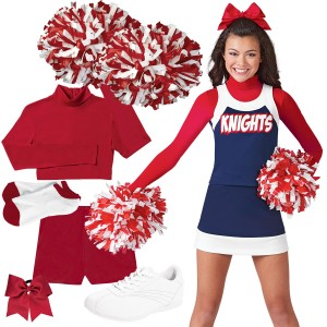 Cheer Uniform Spirit Pack 6 - Bow-to-Toe