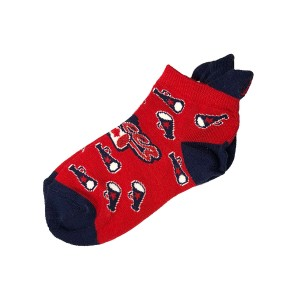 Megaphone Low-Cut Cheer Socks - Youth