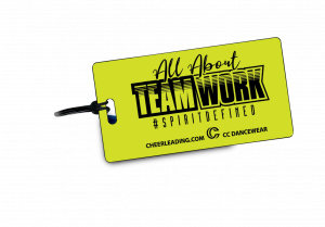 All About Teamwork Bag Tag