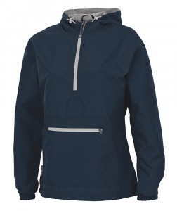 Ladies Chatham Anorak Pullover by Charles River