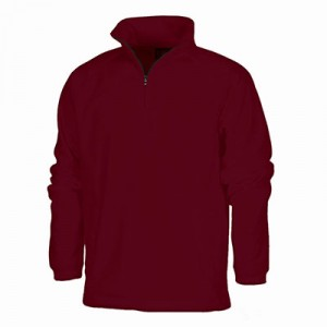 Quarter-Zip Fitted Pullover