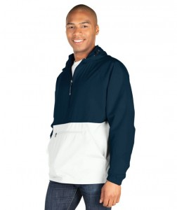 Charles River Color Blocked Pack-n-Go Pullover