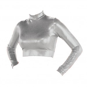 CC SpiritWear Metallic Half Top