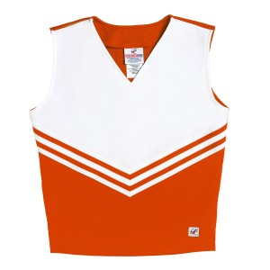 Stock V- Neck Classic Cheer Uniform Shell Top